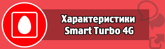 Характеристики Smart Turbo 4G